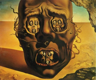 Salvador Dali. The Visage of War.